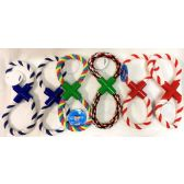 72 Units of Dog Puppy Pet Braided Rope Chew Knot Toy - Pet Toys
