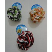 36 Units of Pet Rope Knot Ball - Pet Toys