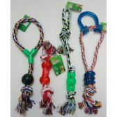 48 Units of Rope Pet Toy [4 Style] - Pet Toys