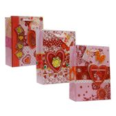 72 Units of Valentine XXL Assorted Gift Bags - Valentine Gift Bag's