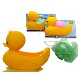 72 Units of DUCK BATHROOM SET W/SPONGE - Bathroom Accessories