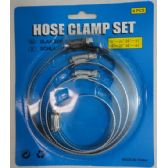 70 Units of 4pc Hose Clamp Set - Clamps