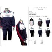 12 Units of Mens Track Suit Tricot Dazzle 100% Poly