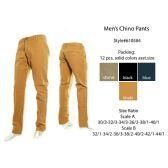 12 Units of Mens Chino Pants
