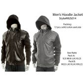 12 Units of Mens Fashion  Hoodie Jacket - Mens Sweat Shirt