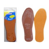 96 Units of 2 Pairs Leather Insoles