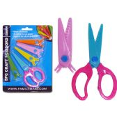 96 Units of SCISSORS SAFE 5PC - Scissors