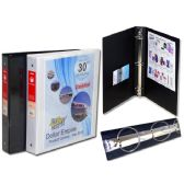 """48 Units of 1.5"""" Binder With View Pockets - CLIPBOARDS/BINDERS"""