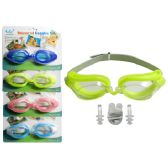 288 Units of Swim Goggles + Nose Plug + Ear Plugs - Summer Toys