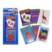 96 Units of PLAYING GAME CHILDREN 'S - Card Games