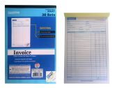 72 Units of 3 Part Invoice Book, 30 Sets - Sales Order Book