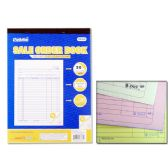 72 Units of SALE ORDER BOOK 3PK/SET 20SET - Sales Order Book