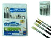 144 Units of 15pc Artist Paintbrushes - Paint/Paint Brushes/Finger Paint