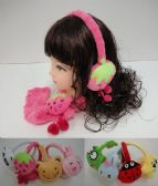 12 Units of Child's Super Soft Character Earmuffs - Ear Warmers