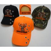 24 Units of LOCKED & LOADED Hat [Deer Head-Bullet Holes] - Hunting Caps