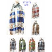 48 Units of Ladies Winter Assorted Design Scarves - Womens Fashion Scarves