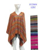 72 Units of Ladies Striped Design Winter Scarves - Womens Fashion Scarves