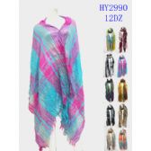 72 Units of Ladies Fashion Winter Scarves Assorted - Womens Fashion Scarves