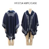 24 Units of Ladies Fashion Winter Poncho - Womens Sweaters & Cardigan
