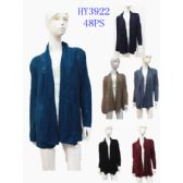 20 Units of LADIES SOLID SHAWL CARDIGAN - Womens Sweaters & Cardigan
