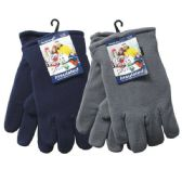 36 Units of WINTER Fleece Glove Men HD - Winter Gloves