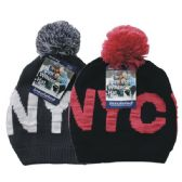 24 Units of Winter Ladies Pom Pom Hat NYC