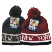 24 Units of Winter Pom Pom Hat Knit NY