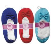 48 Units of Winter House Slipper Texture