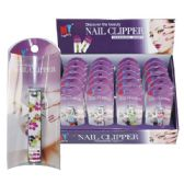 96 Units of Nail Clipper Printed in PVC Display