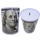 48 Units of SAVING BANK TIN NEW US 100 15.5DIA*21.7CM