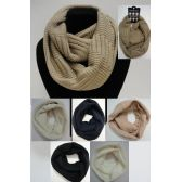 Wholesale Bulk Knitted Infinity Scarf [Tight Knit]