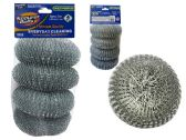 96 Units of 4 Piece Set Of Scourer - SCOURING PADS,SCRUBBERS,SPONGE