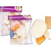 72 Units of 25 Piece Cosmetic Sponge - Cosmetics