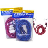 "96 Units of Bungi Cords 2pc Asst Color Size: 48"" - Bungee Cords"