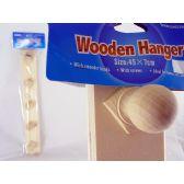 48 Units of Hanger Wooden 5 Hooks - Hangers