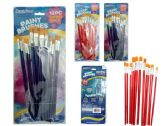 72 Units of 12pc Artist Paint Brushes - Paint and Supplies