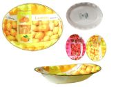72 Units of Plastic Oval Tray - Tray