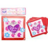 144 Units of 20 Piece Princess Party Napkin - Party Tableware