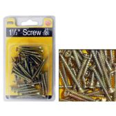 "72 Units of Screws 1 1/2"" Long - Drills and Bits"
