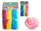 144 Units of 6 Piece Shower Cap - Shower Caps