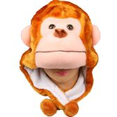 24 Units of Winter Monkey Animal Hat