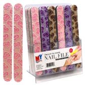 84 Units of Nail File Big Heart Display - Cosmetics