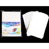 72 Units of 20 Piece Craft Foam Sheets - Foam Items