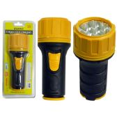 72 Units of Flashlight 1d Leddb. Yellow - Flash Lights