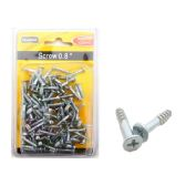 72 Units of Screw 0.8 120pc Dou Blister - Drills and Bits