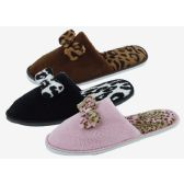 48 Units of Ladies' Slippers Assorted Color - Women's Slippers