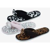 48 Units of Ladies Fashion Winter House Flip Flops - Women's Flip Flops