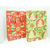 "144 Units of X'mas Gift Bags-Asst. Extra Large 18""x13""x6"""