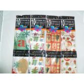 144 Units of Xmas Tissue Paper 10ct Asst. - Christmas Ornament