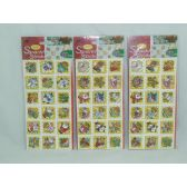 144 Units of Xmas Glitter Stickers - Christmas